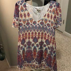 Show me Your Mumu paisley print dress